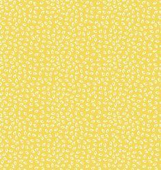 Una tela de patchwork en color amarillo preciosa para combinar o para proyectos con mucha luz.