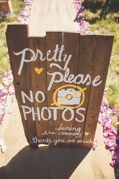 28 Unplugged Wedding Signs & No Cellular Phone Signs - diy real wood unplugged wedding sign - Plan Your Wedding, Wedding Tips, Wedding Blog, Destination Wedding, Wedding Planning, Dream Wedding, Wedding Day, Wedding Favors, Wedding Venues