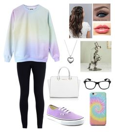 """Dentist got me like☺"" by blessed-with-beauty-and-rage ❤ liked on Polyvore featuring NIKE, Michael Kors, Vans, LASplash, Pandora, NOVICA, women's clothing, women, female and woman"