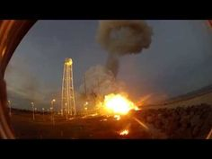 GoPro Hero Camera Captures Awesome Sight Of Antares Orb-3 Rocket Explosion - YouTube
