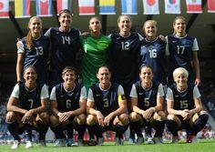 US Women's Soccer -London Olympics 2012