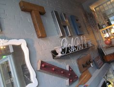 Recycled Metal Letters Are In!