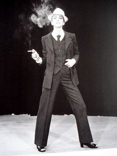 Yves Saint Laurent Spring/Summer 1967, first women's pantsuit collection