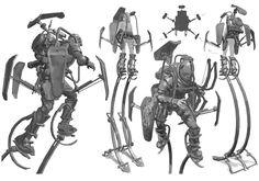 Robots and stuff (but mostly robots), gameraddictions: Tall boys and Lunatics ...