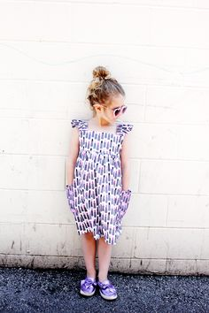 Girls Easy Summer Dress Pattern   Girls Dress Pattern, Easy Dress Pattern, Summer Dress Pattern, Girls Summer Dress, DIY Girls Dress #summerdresspattern #girlsdresspattern #girlssummerdress    See Kate Sew via @seekatesew