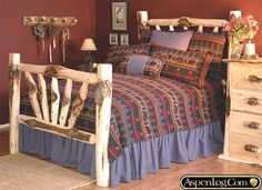 Rustic Home Decor collections | Rustic Home Decor and Rustic Bedding from Aspenlog.comWD16.jpg ...