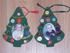 Christmas Crafts for 2 Year Olds | Little Fun; Little Learning: Christmas Ornament Ideas