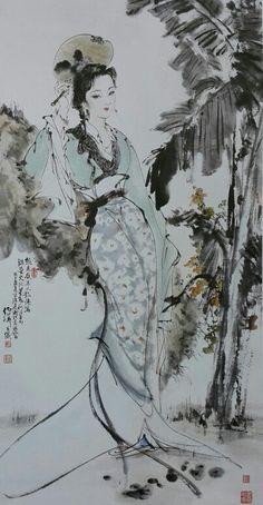 白伯驊,1996,  消夏圖