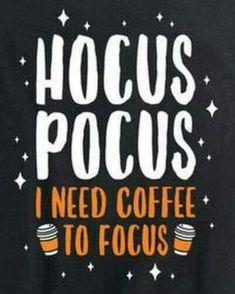 Coffee Hocus Pocus Halloween