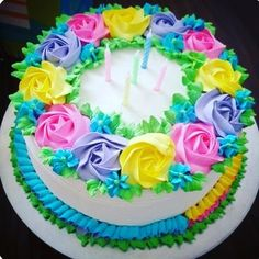 40 ideas cake decorating icing design sugar cookies Source by dbabej . Cupcake Decorating Party, Cake Decorating Icing, Cake Decorating Tutorials, Cookie Decorating, Decorating Ideas, Birthday Cake With Flowers, Cool Birthday Cakes, Birthday Cupcakes, Cake Icing