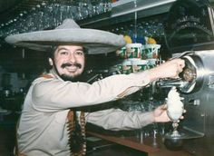 Inventor of the Frozen Margarita;  Mariano Martinez opened his first restaurant in Dallas. Demand for his blended margarita was high, but the bar staff could not keep up with orders, as over 200 per night were produced from just one blender. At a local 7-Eleven, he noticed the Slurpee machine; he had an idea. 7-11 would not sell him a machine. Martinez bought a used ice cream machine in 1971 and modified the machine to make frozen margaritas.  The rest is Margaritaville!
