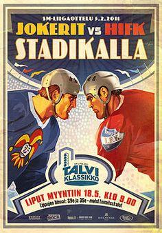 2011 Helsinki Hockey poster