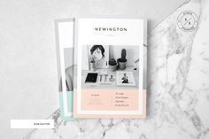 The Newington Portfolio template is a 22 page Indesign brochure template available in both A4 and US letter sizes. This beautiful brochure was designed to work well with the Saint–Martin proposal template.