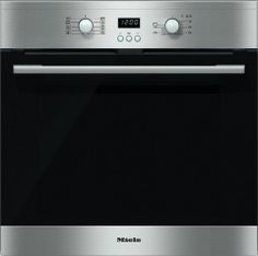 Miele ContourLine H2361BP CleanSteel Single Built In Electric Oven Pyrolytic