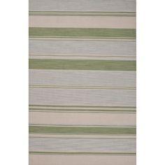 Pura Vida Wool Flat Weave Blue/Green Area Rug