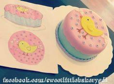 pastel pollito de fondant fondant chicken cake