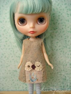 If I had a Blythe, she'd wear this.