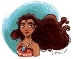 Moana by samycat on DeviantArt