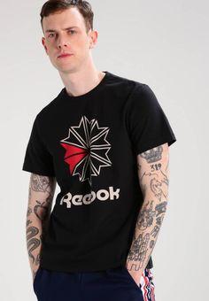 cf034e1e9c439 TEE - Print T-shirt - black   Zalando.co.uk 🛒