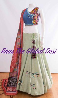 CHOLI-[navratri_chaniya_choli]-[chaniya_choli_online_USA]-[chaniya_choli_for_garba]-[chaniya_choli_for_navratri]-Raas The Global Desi Garba Chaniya Choli, Garba Dress, Choli Dress, Navratri Dress, Kids Lehanga, Anarkali Dress, Choli Designs, Lehenga Designs, Saree Blouse Designs