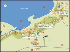Location Map Ontario Parks, Location Map, Map