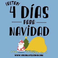Sólo faltan 4 días para Navidad!!! Tenéis todo listo?  www.virusdlafelicidad.com  #virusdlafelicidad #navidad #papanoel #parenoel #regalo #agenda #agenda2016 #agendavirus #nadal #regal #cuentaatras