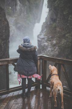 Canadian landscapes + Mans Best Friend via Luke Gram