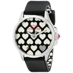 705d42b4bef Relógio Feminino Juicy Couture com pulseira de Silicone Preto - 1901220  Relógio Feminino Preto