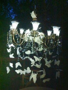 Outdoor plug in chandelier outdoor chandelier pinterest outdoor solar chandelier mozeypictures Gallery