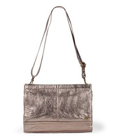 Take a look at this The Sak Pyrite Metallic Iris Leather Clutch on zulily today!