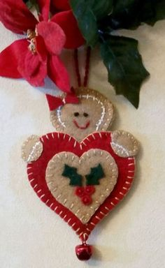 Christmas Projects, Felt Crafts, Holiday Crafts, Felt Projects, Christmas Sewing, Handmade Christmas, Christmas Diy, Felt Christmas Decorations, Felt Christmas Ornaments
