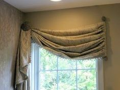 use a small decorator rod hung vertically ^( at winbdows frame edge) single tie back to create valance is creative inspiration for us. Get more photo about home decor related with by looking at photos gallery at the bottom of this page. We are want to say thanks if you …