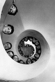 The real reason for a circular staircase