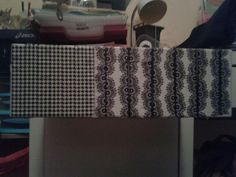 Je voulais customiser un tiroir et je l'ai fait c'est simple il faut -un tiroir  -du scotch décoratif appelé masking tape