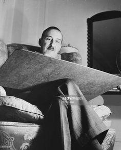 Austrian novelist Stefan Zweig working on his manuscripts, circa Stefan Zweig, One Decade, Desks, Writer, Editorial, Posters, Suits, Gallery, Famous Poets
