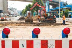 Wasserrohrbruch könnte Verkehr in Hamburg wochenlang behindern