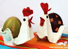 15 fantastic egg carton crafts for moms and their kids, and classrooms. Flowers, wreaths, owls, bugs, pirate boats, headbands, fish, egg stands and more.