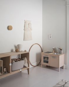 undefined Ikea Play Kitchen, Minimalist Kids, Diy Casa, Daughters Room, Little Girl Rooms, Kid Spaces, Kids Furniture, Decoration, Kids Bedroom