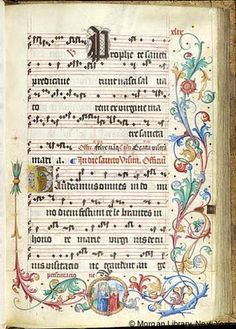 Gradual, MS M.905 II, fol. 49r - Images from Medieval and Renaissance Manuscripts - The Morgan Library & Museum