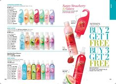 Yes I said FREE!!! BUY 2 GET 1 FREE…..BUY 3 GET 2 FREE!!! (Mix or match of equal or lesser value) AVON SENSES BODY CARE **Hydrating Shower Gels leave skin feeling cleansed and conditioned. …