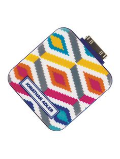 This mobile portable battery charger features a fun design by Jonathan Adler.