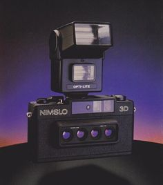 Nimslo. 3D The Nimslo is a stereo camera with a brightfield...