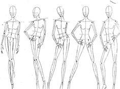 *** Strike a Pose. Fashion Sketch Template, Fashion Figure Templates, Fashion Model Sketch, Fashion Design Template, Fashion Sketches, Fashion Illustration Tutorial, Illustration Mode, Fashion Illustration Sketches, Fashion Sketchbook