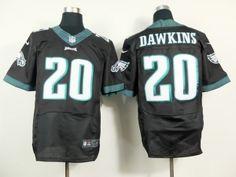 Philadelphia Eagles 20 Brian Dawkins Black
