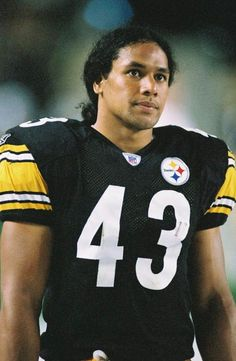 Troy Polamalu - Year One Go Steelers, Pittsburgh Steelers Football, Pittsburgh Sports, Steelers Helmet, Steelers Stuff, Dallas Cowboys, Cincinnati Reds, Indianapolis Colts, Samoan Men