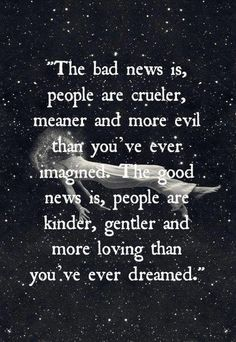 People are...