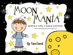 This hands-on Moon Unit incorporates activities and ideas to implement in Math, Literacy, and Science.