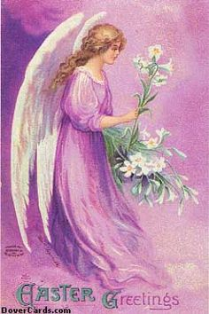 Vintage Easter Angel