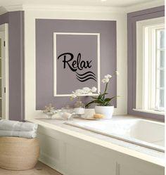 bathroom wall decorating ideas. Contemporary Decorating Bedroom Wall Decals  Bathroom Decal Relax Vinyl  Decor On Decorating Ideas H