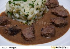 Korn, Stew, Mashed Potatoes, Meat, Cooking, Ethnic Recipes, Red Peppers, Whipped Potatoes, Kitchen